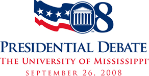 2008 Presidential Debate Official Logo