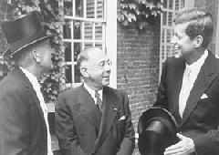 Walter Cabot Sydney Weinberg JFK