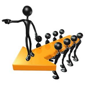 3d Team Leadership Arrow Concept by lumuxart on Flickr.com
