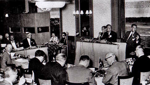 Photo from the first Bilderberg Meeting 1954