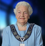Mayor Hazel McCallion of City of Mississauga, Ontario